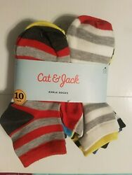 Cat and Jack Boys Socks 10 Pack NEW $11.00