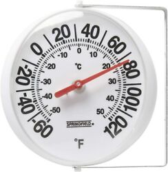 Large Outdoor Wall Analog Patio Thermometer Mounting Bracket Temperature Reader $11.95