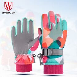 Winter Ski Gloves Kids Boys Girls Snow Mittens Waterproof Warm Outdoor Sports US $12.64