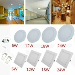 2PCS LED Panel Light Recessed Kitchen Bathroom Ceiling Lamp LED Down Lights $24.18