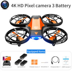 FPV Mini Drone w Camera HD V8 Foldable RC Quadcopter w Altitude Hold amp; WiFi $28.90