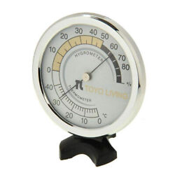 Thermometer Analog Temperature Gauge Household Humidity Indoor Meter Office C $13.64