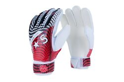Victor Sierra Recoil Soccer Goalkeeper Gloves Finger Protection Red $17.99