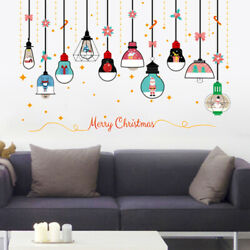 1PC PVC Christmas Chandelier Wall Stickers Wall Decal Wallpaper Wall Decor $7.64