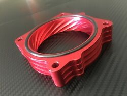 X707 AR RED Throttle Body Spacer for 2006 2010 Dodge CHARGER 5.7l 6.1l v8 $70.00