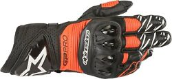 Motorcycle Gloves Alpinestars Gp Pro R3 Color: Black Red Size: XL $251.15
