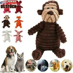 Dog Chew Toy Squeaky Plush Dog Toy For Aggressive Chewers With Chew Pet Toys $7.45