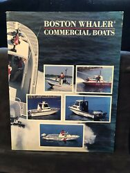 1988 Boston Whaler Commercial Products brochure....Free Shipping