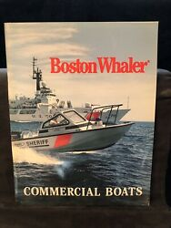 1991 Boston Whaler Commercial Products brochure....Free Shipping