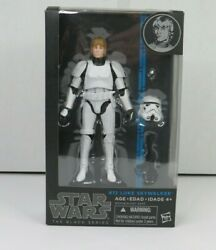 Luke Skywalker Stormtrooper #12 STAR WARS BLUE The Black Series MIB 6quot; Scale $39.49