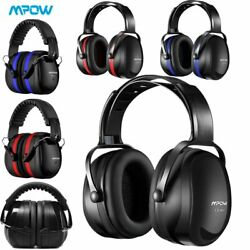 Mpow Folding Ear Defenders 34dB 36dB Ear Muffs Protectors Hearing Safety Adult $24.69