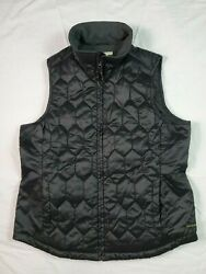 ExOfficio Womens Quilted Vest Black S Small Outdoor Light Insulation 100% Nylon $19.99