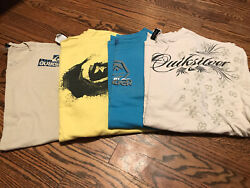 Mens Lot Of 4 Quiksilver T shirts Size Adult XL XLarge $19.99