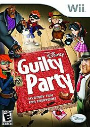Guilty Party for wii by Disney $8.26