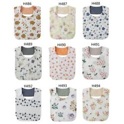 Newborn Baby Waterproof Saliva Towel Toddler Feeding Burp Cloth Cotton Bib Scarf $6.02