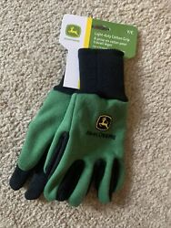 John Deere Kids Gloves Youth New With Tags Garden Work Gloves Brand New $6.75