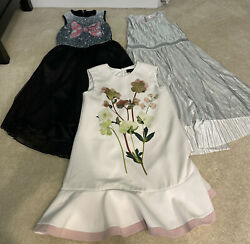 Lot of 3 Girls Party Dresses Size Medium $29.00