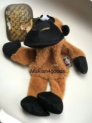 Fuzzy Buddies Dog Toys squeaky Toy black And Brown $14.40