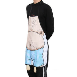 Kitchen Funny Cooking Grilling BBQ Apron Father#x27;s Day Gift Novelty for Men $9.69