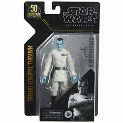 FREE SHIPPING Star Wars The Black Series Archive Grand Admiral Thrawn 6 Inch AF $29.99