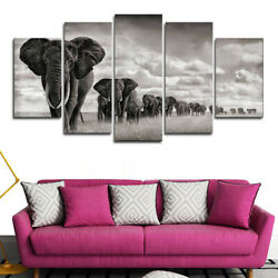 5Panels Wall Art Painting On Canvas About Landscape Animal $25.05