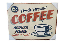 Coffee Sign Kitchen Art Vintage Coffee Sign $5.00