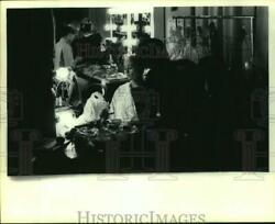 1985 Press Photo Houston Ballet Filming of ATamp;T commercial in New York City