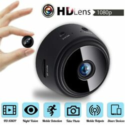 Security Camera WIFI HD Mini Camcorder 1080P Home Small Camera Night Vision $38.45