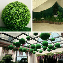 Artificial Plant Ball Topiary Tree Boxwood Wedding Party Home Outdoor Decor New $7.29
