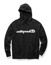 Champion Women#x27;s Powerblend Hoodie Black Size X Large 8Htb $12.93