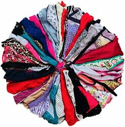 Morvia Variety Panties for Women Pack Sexy Thong Hipster Briefs 20 Pcs Size H $17.08
