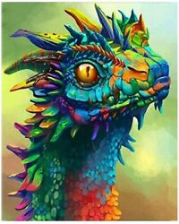 Kimily DIY Paint by Numbers for Adults Kids Dragon Paint by Numbers DIY Painting $15.20