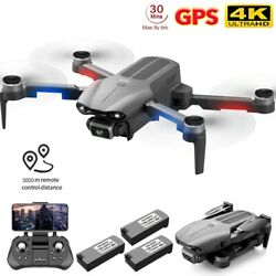 2021 F9 New Professional Drone HD Duel Camera 5G GPS Foldable RC Quadcopter $178.99