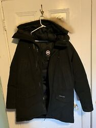 Canada Goose Large Men#x27;s Langford Parka Size Large Black GREAT CONDITION $700.00