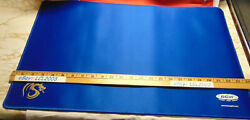 NEW Blue BCW GAMING SUPPLY Stitched Edging Playmat $15.00