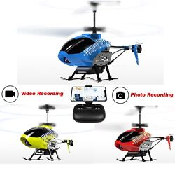 U12S Mini RC Helicopter with Camera Remote Control Helicopter for Kids amp; Adults $35.98