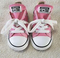 Converse All Star Toddler Girl#x27;s Size 7 Pink Low Shoes $16.95