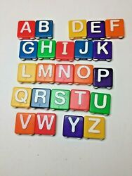 24 Fisher Price Play Textured Letters Desk Replacement Letters NO DUPLICATES $7.99
