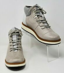 Cliffs By White Mountain Women#x27;s Sz 8M Collins Hiking Boot Gray Silver New $34.97