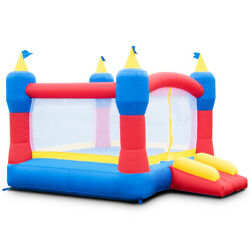 Bounce House Magic Castle Inflatable Bouncer Kids Jumper Slide Without Blower $159.99