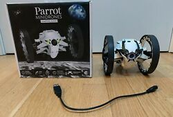 Parrot Mini Drone Jumping Sumo App controlled Vehicle w Camera Tested Working $35.00