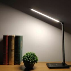 Flexible Table Adjustable Lamps Dimmable Foldable Lighting 6W Qi Wireless Charge $61.19