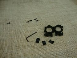 1quot; high rings for dovetail or rimfire type rifle mount with screws $5.99
