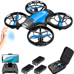 Mini Drone Selfie WIFI FPV With HD Camera Foldable Arm RC Quadcopter Toy US New $43.90