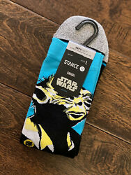 Stance Star Wars The Empire Strikes Back Yoda 40th Anniverary Socks L Men#x27;s 9 13 $19.90