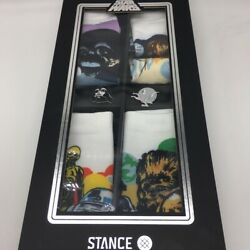 Brand New Stance Star Wars Socks Box and Pin Set size L $100.00
