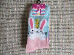 Ladies DAVCO Easter Socks Set of 2 SIZE 9 11 NEW $7.00