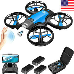 4DRC V8 Mini Drone Small Pocket Drone Quadcopter 3D Roll Helicopter Kids Remote $28.90