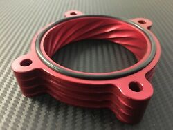 X736 AR  RED Throttle Body Spacer for 2011 2021 Ford F 150 5.0l v8 $70.00