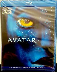 James Cameron's AVATAR 3D Blu ray PROMO Release Panasonic Exclusive Sealed $17.50